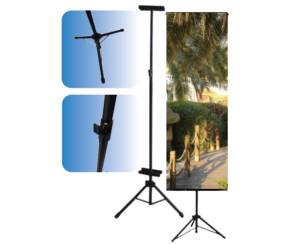 Bunting Display Stand Tripod Stand